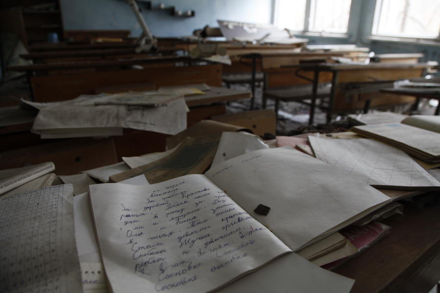 Abandoned school class