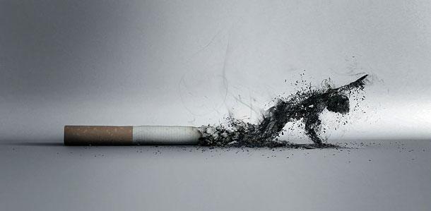 Дим сигарет з ментолом