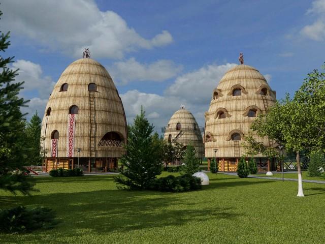 Готель у формі копиці сіна скоро запрацює у Львові thumbnail