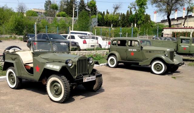 Музей старых автомобилей и вещей в Виннице