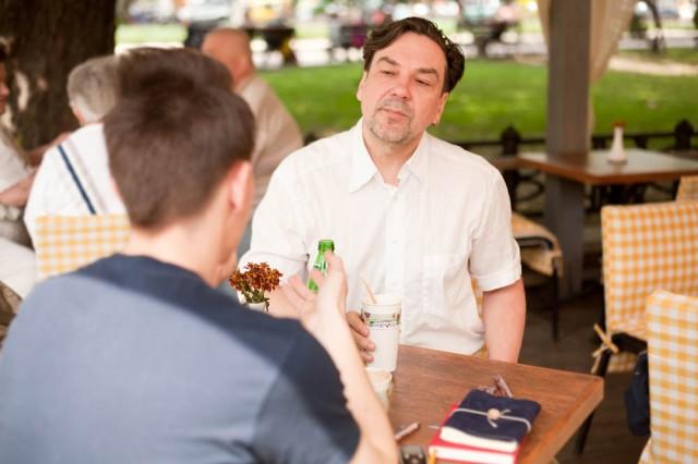 CoffeeTalk: розмова з Юрієм Андруховичем