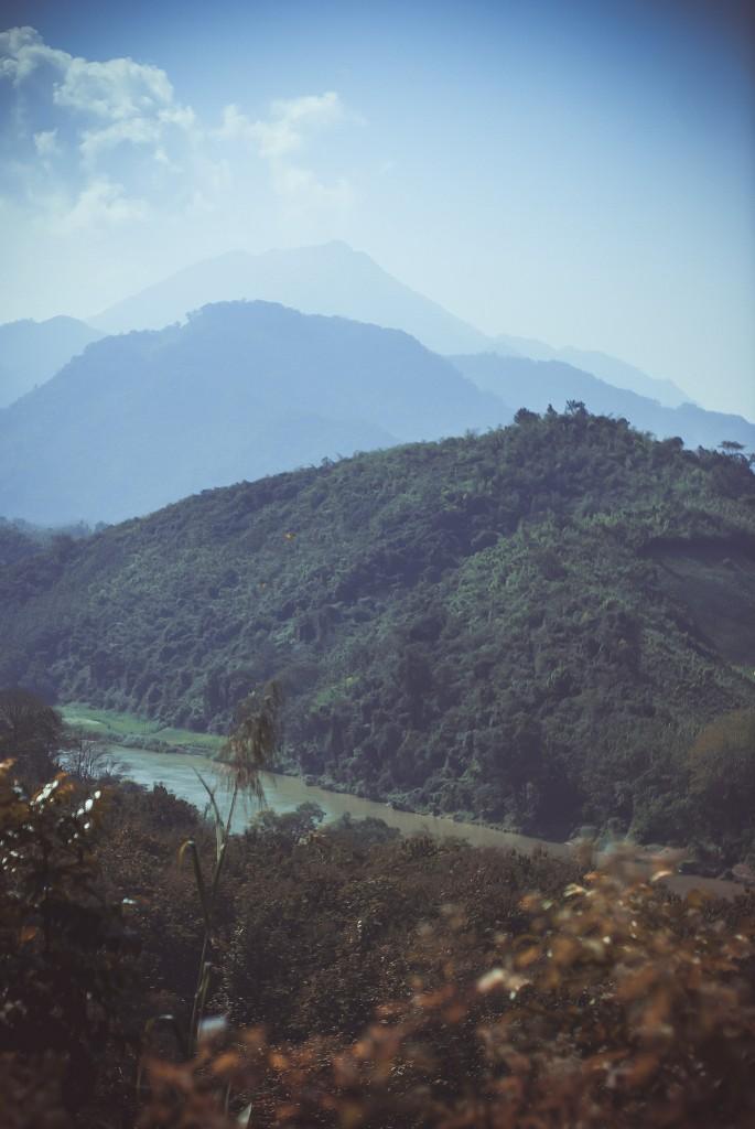 Вид гір зі сторони джунглів