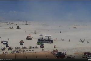 Пряма трансляція з фестивалю Burning Man