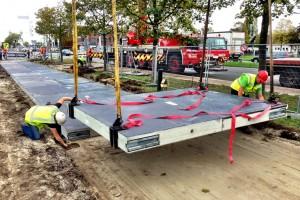 В Нідерландах збудували велодоріжку з сонячних панелей