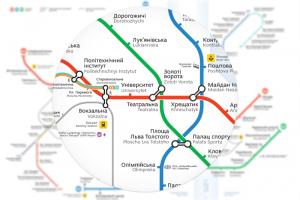 У київському метрополітені з'являться нові карти