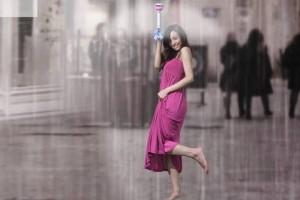 Китайський стартап зібрав $100K на невидиму парасольку