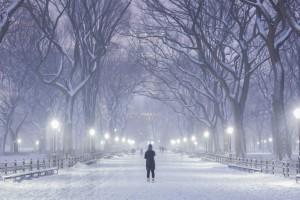 Безлюдний Нью-Йорк: фото снігової бурі з соцмереж