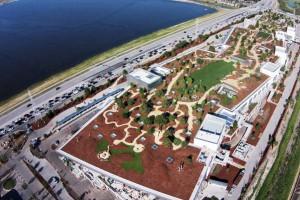 Facebook відкрив новий офіс з парком на даху