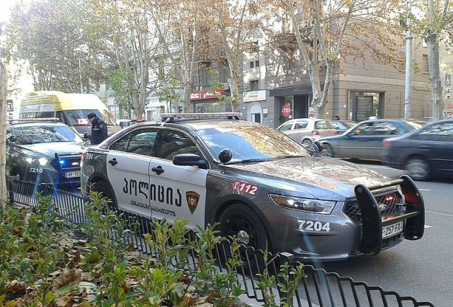 Tbilisi,_Georgia_—_Georgian_Polices_new_patrol_car