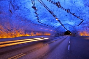 Як Норвегія будувала найдовший в світі тунель