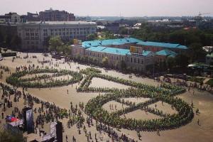 Харківські велосипедисти встановили новий рекорд України під час Велодня