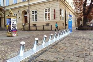 У Львові встановили перші пункти міського велопрокату від Nextbike