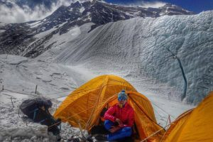 Перша українка підкорила Еверест