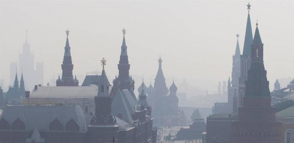 Пожежі в Росії