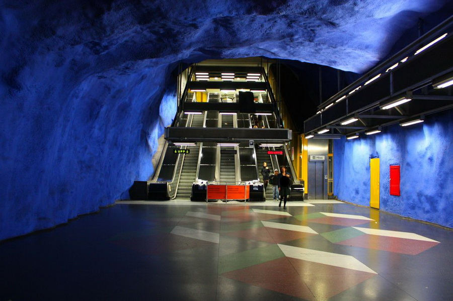 Стокгольмське метро
