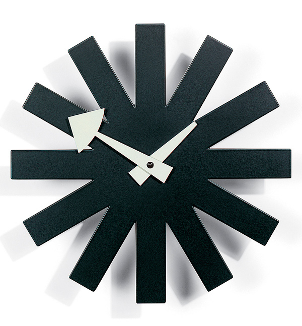 George Nelson Asterisk Clock, 1950