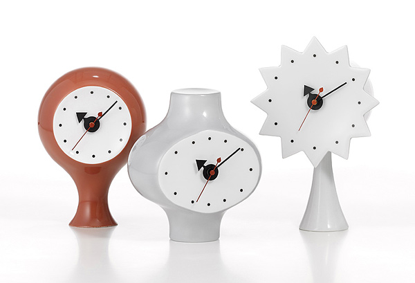 George Nelson Ceramic Clocks, 1953