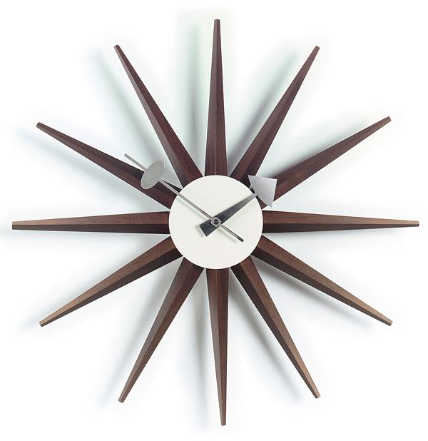 George Nelson Sunburst Clock Clock, 1949