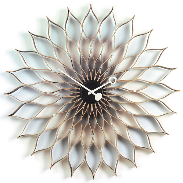 George Nelson Sunflower Clock, 1958