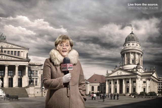 Ангела Меркель для CNN