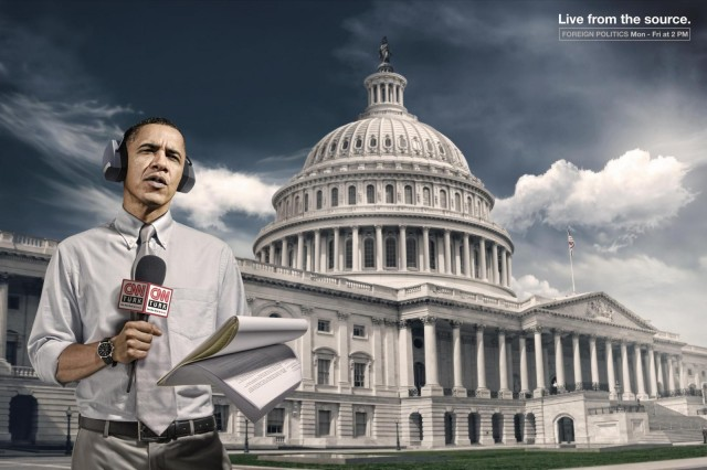 Барак Обама для CNN