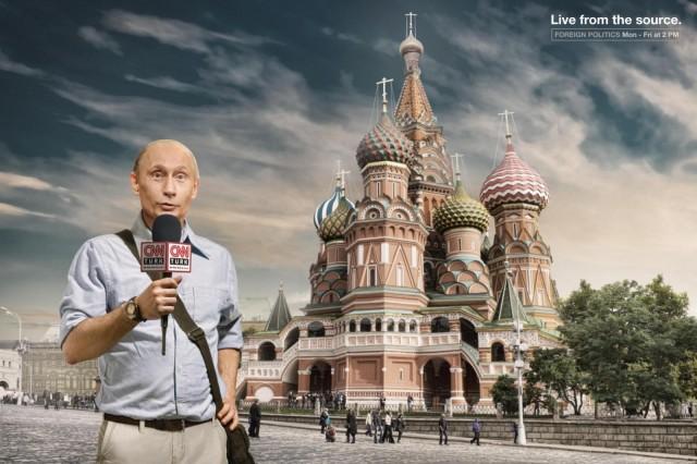 Володимир Путін для CNN