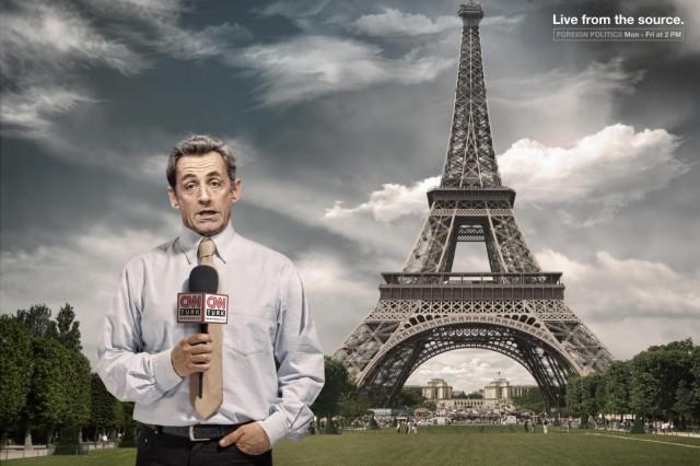 Ніколя Саркозі для CNN