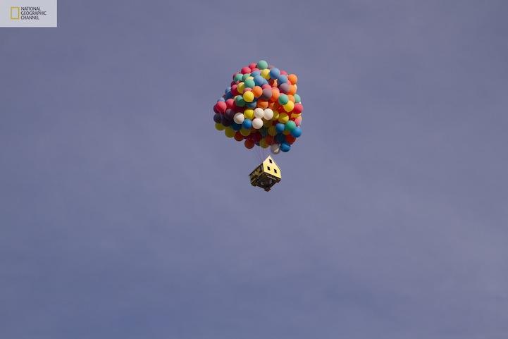 Будинок на повітряних кулях