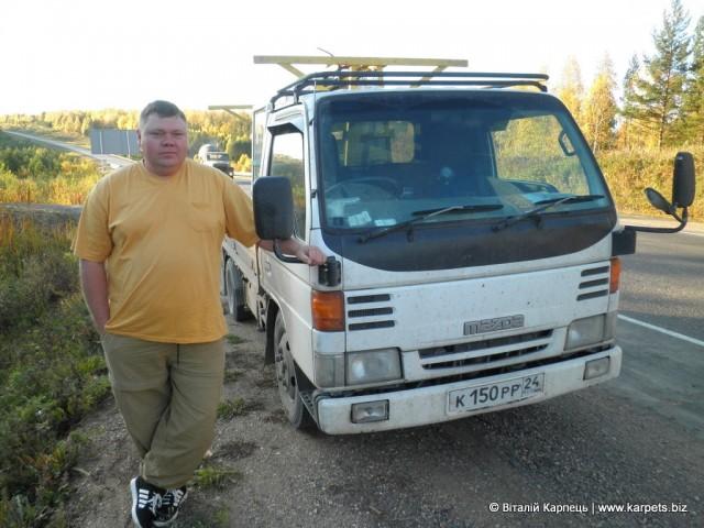 Керівник будівельної фірми Андрій із Красноярська
