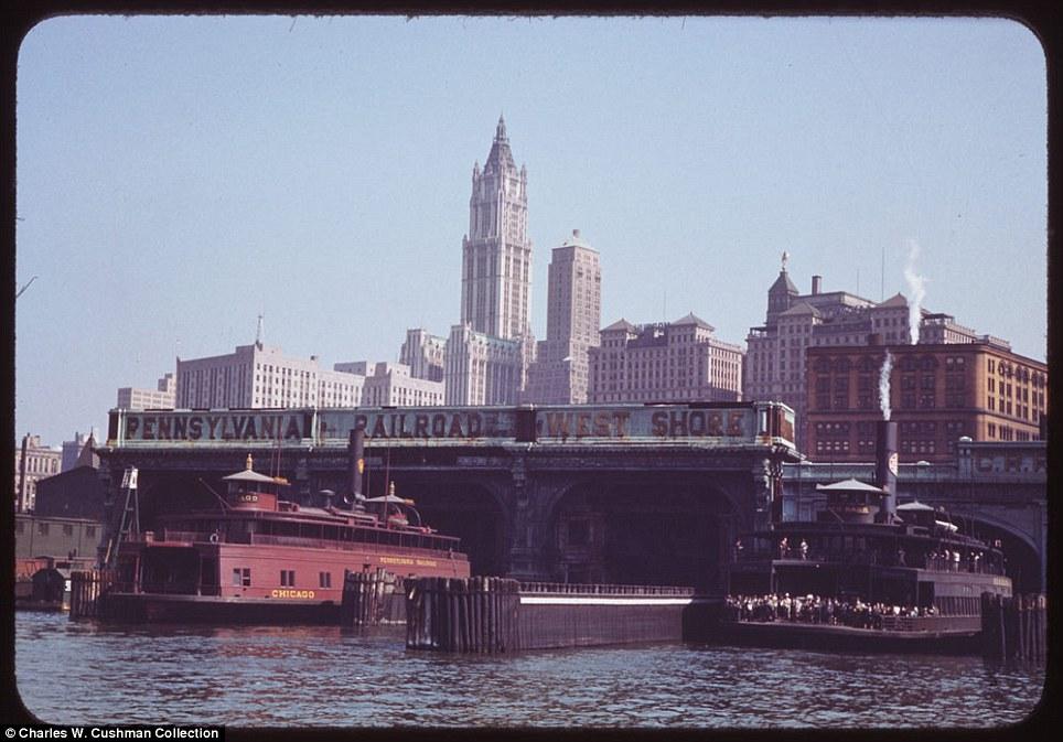 Кольорові фотографії Нью-Йорка