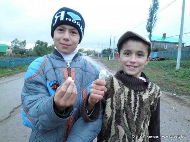 Діти в селі Александровка у республіці Татарстан