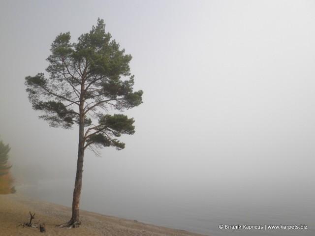 Ранковий туман на Байкалі