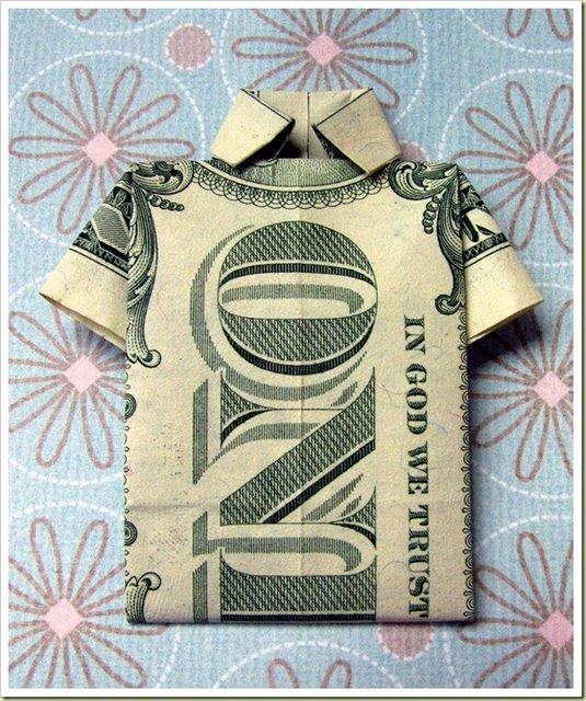 Орігамі з грошей