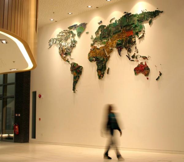 Susan Stockweel world map