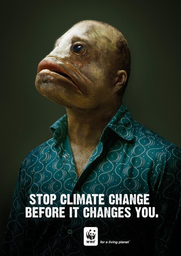 Рекламні принти про спасіння природи