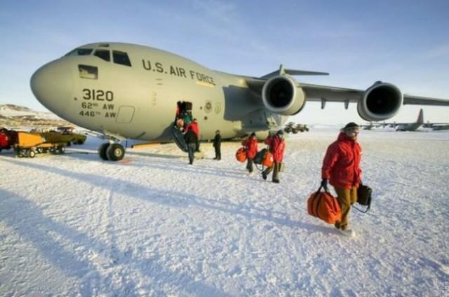 Ice Runway, Антарктика
