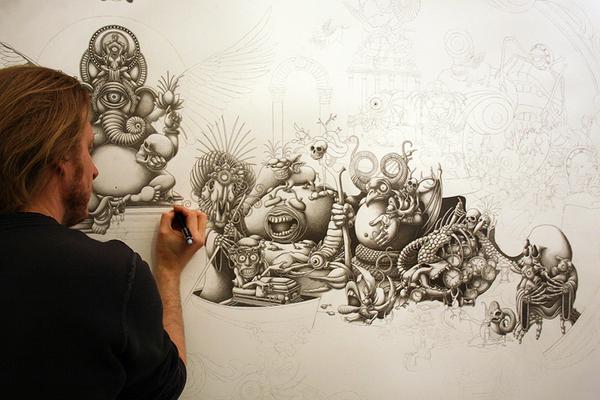 Малюнок Джо Фентона