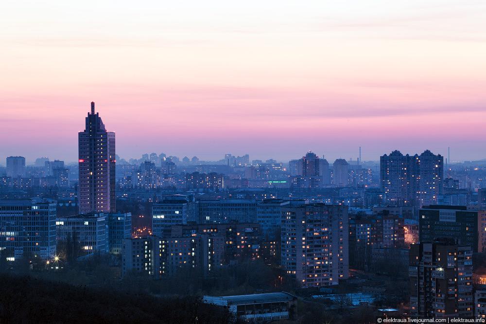 Нічний Київ