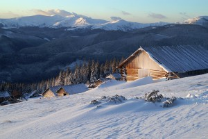 Зимові Карпати