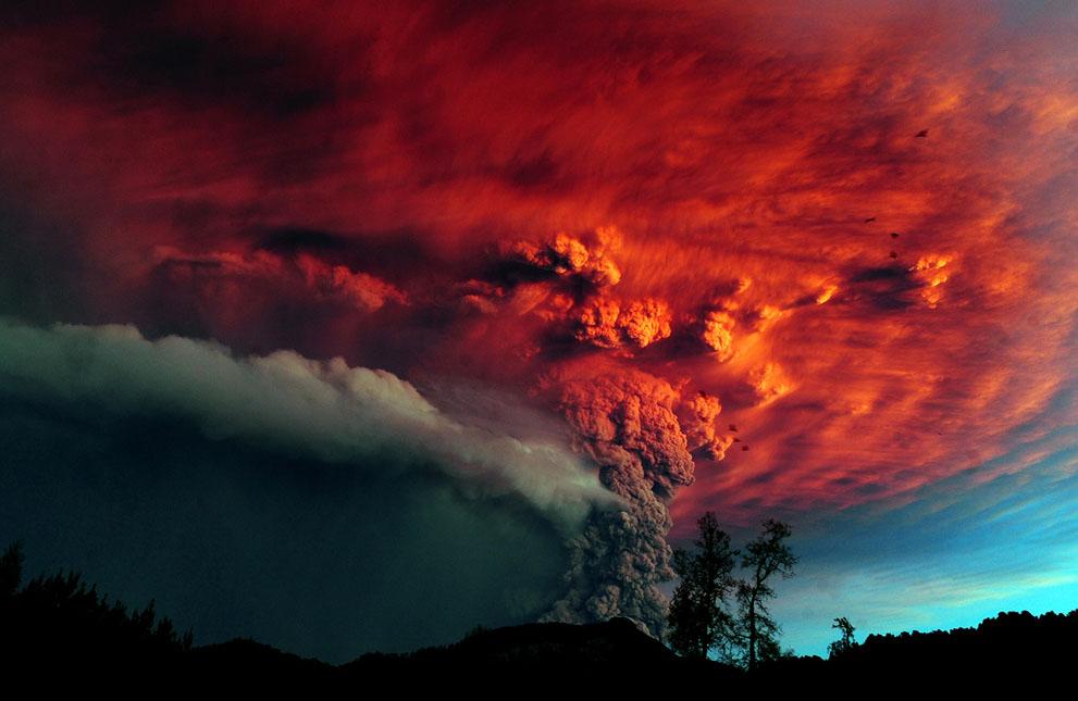 Виверження вулканів
