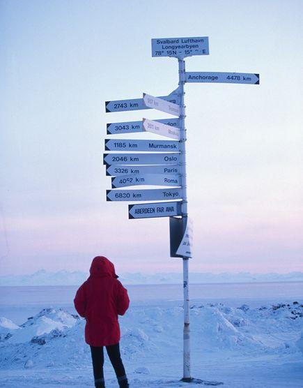 Аеропорт Свальбард, Норвегія
