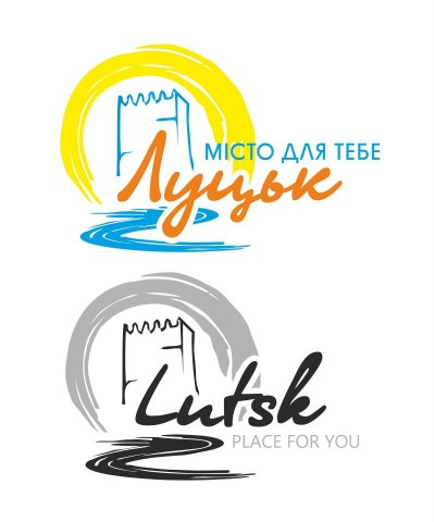 Логотип Луцька