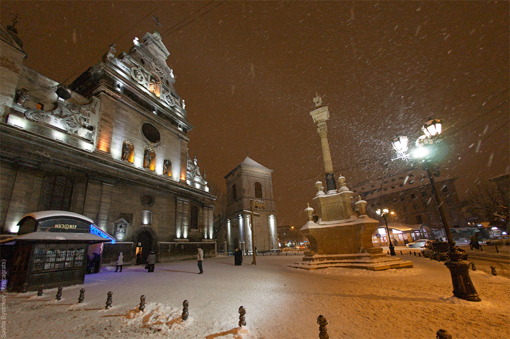 Зимовий Львів