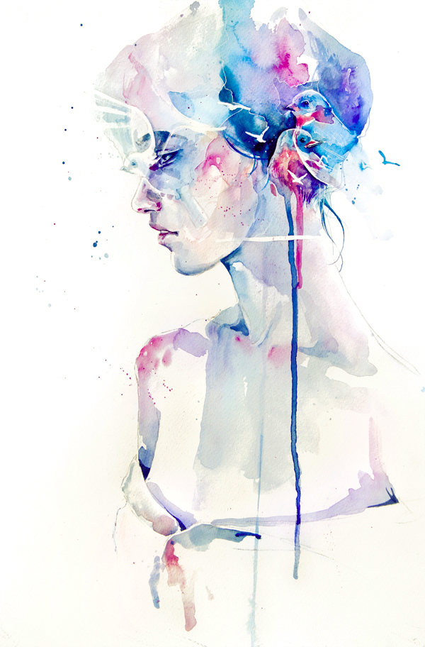 Акварельні ілюстрації Агнес Сесіль