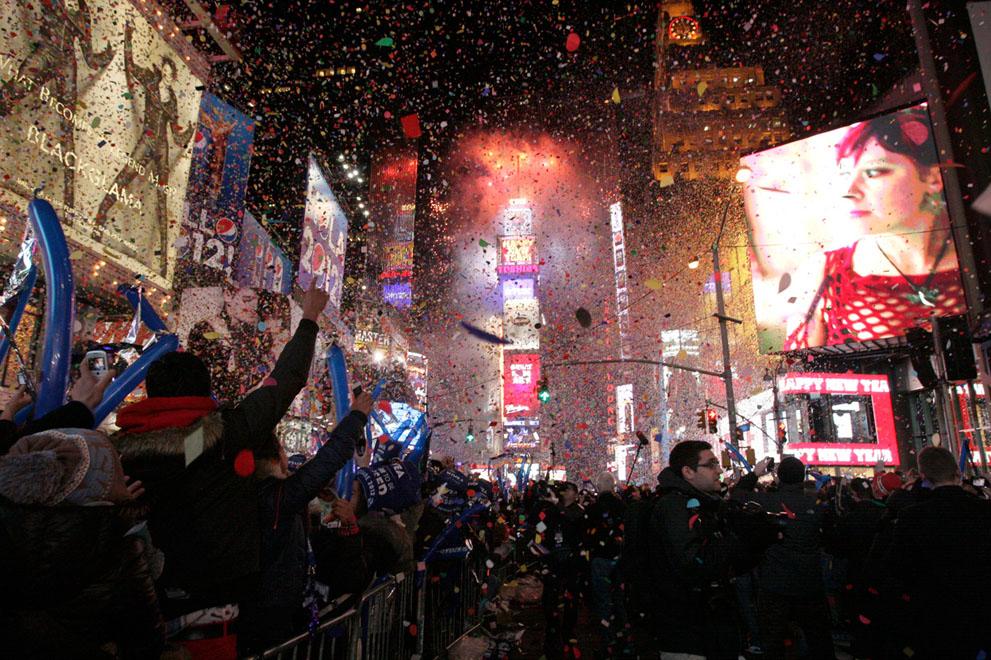Святкування Нового року 2012