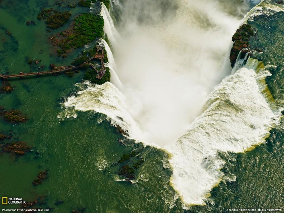 Водопад Ігуасу (Chris Schmid, Your Shot)