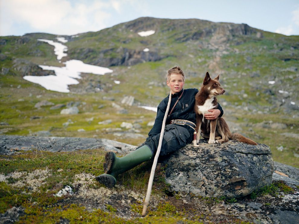 Саамський пастух, Скандинавія (Erika Larsen)