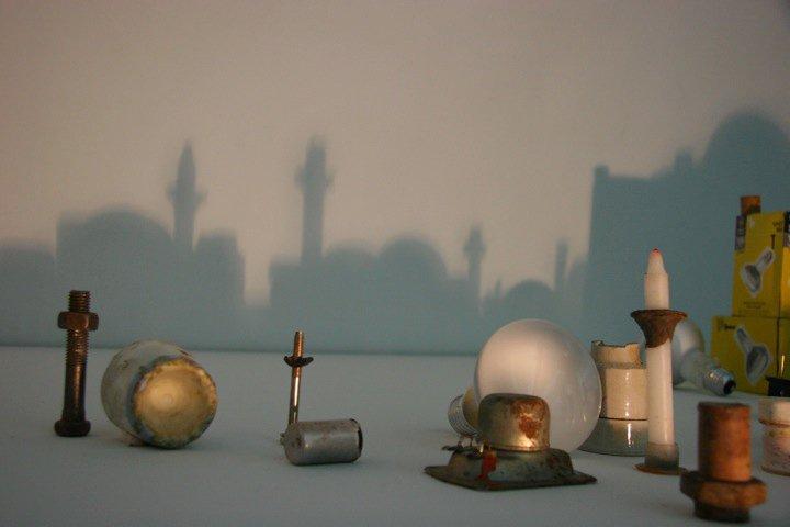 Малюнки з тіней Рашада Алакбарова