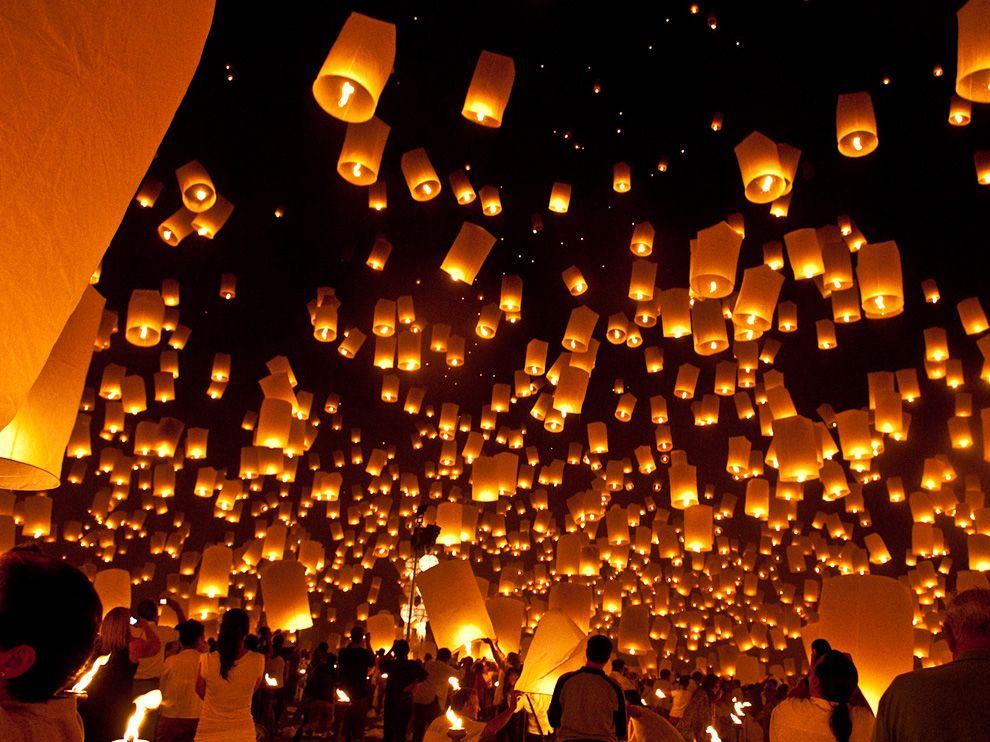 Літаючі ліхтарики, Таїланд (Patrice Carlton, My Shot)
