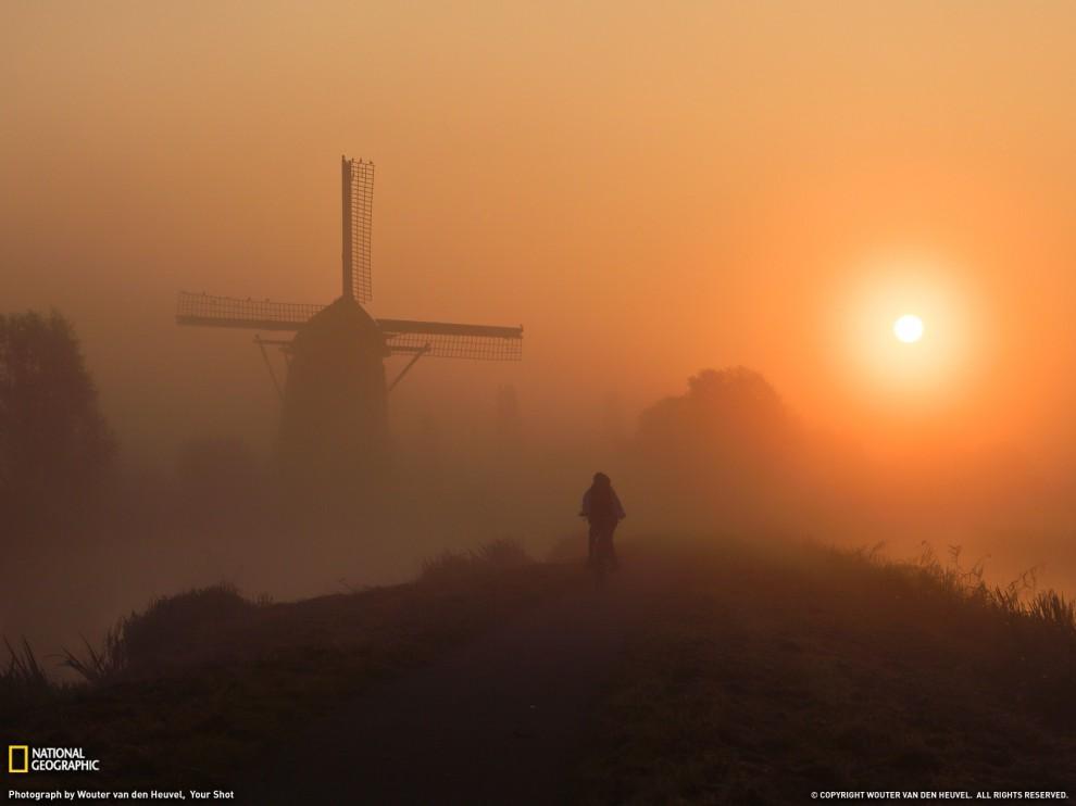 Нідерландський хлопчик їде в школу, (Wouter van den Heuvel, Your Shot)